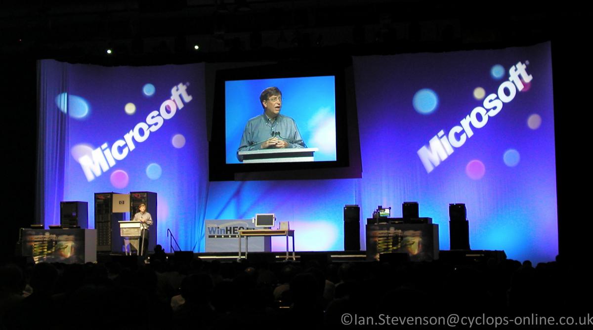 Bill Gates, 2003