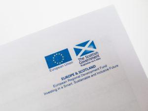 Scotland EU Logos